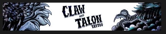 claw and talon banner