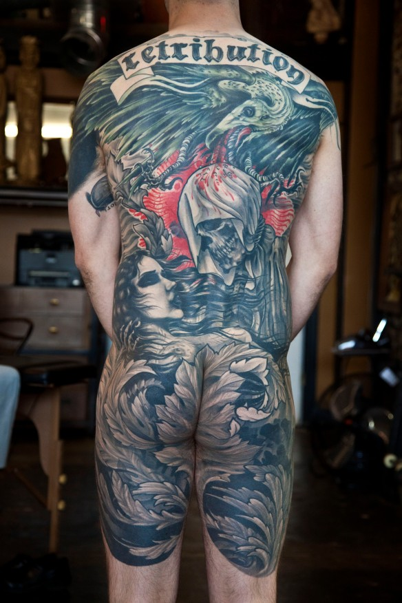 Jay Armstrong tattoo